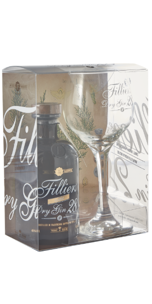 GIN FILLIERS DRY GIN 28 CLASSIC GLASS PACK | PB