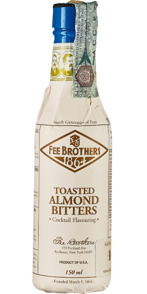 BITTER FEE BROTHERS TOASTED ALMOND