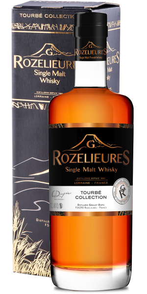 WHISKY ROZELIEURES BLACK LABEL TOURBE COLLECTION SINGLE MALT | AC