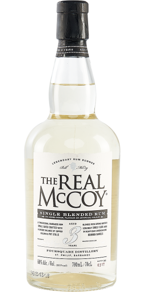RUM THE REAL MCCOY 3 YO
