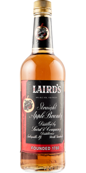 APPLE BRANDY LAIRD'S STRAIGHT 100 PROOF