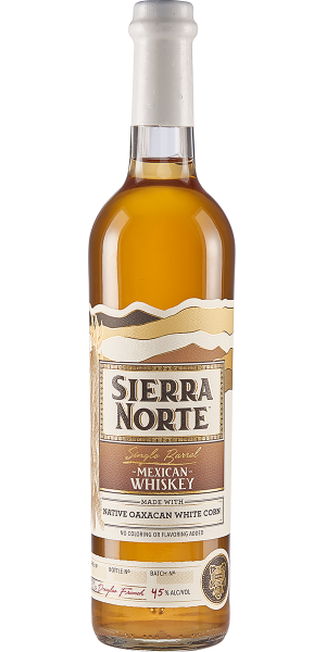 WHISKEY SIERRA NORTE 85% MAIZ BLANCO