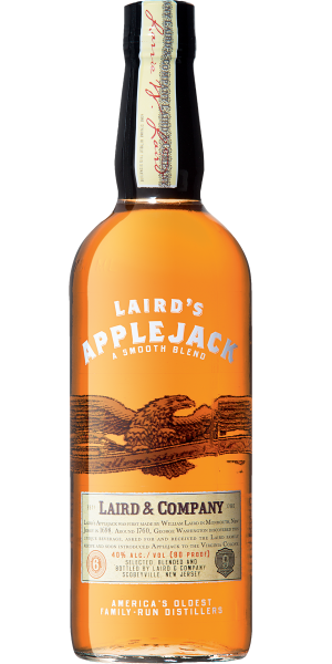 APPLE BRANDY LAIRD'S APPLEJACK BLENDED