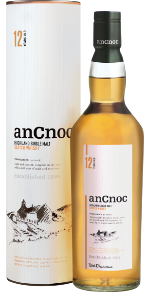 WHISKY ANCNOC 12 YO SINGLE MALT | TC