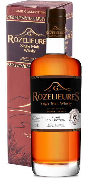 WHISKY ROZELIEURES BROWN LABEL FUME COLLECTION SINGLE MALT | AC