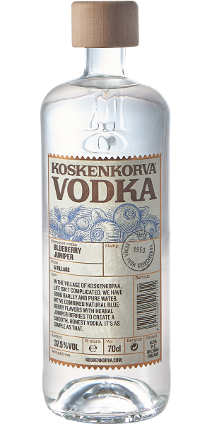 VODKA KOSKENKORVA BLUEBERRY JUNIPER