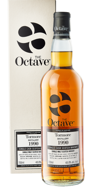 THE OCTAVE RANGE TORMORE 1990 SELECTED BY COMPAGNIA DEI CARAIBI