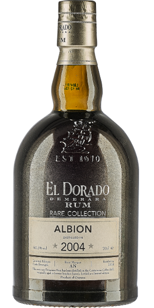 RUM EL DORADO RARE COLLECTION ALBION 2004 | AC