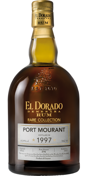 RUM EL DORADO RARE COLLECTION PORT MOURANT 1997 | AC