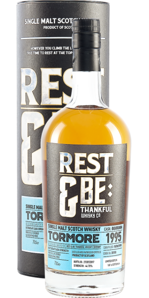 WHISKY REST & BE TORMORE 1995 BOURBON  SINGLE MALT | TC