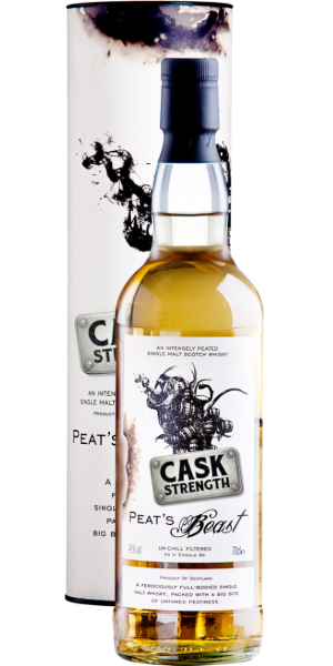 WHISKY PEAT'S BEAST CASK STRENGTH SINGLE MALT | TC