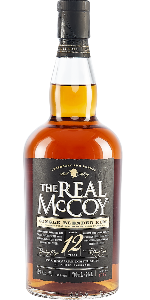 RUM THE REAL MCCOY 12 YO