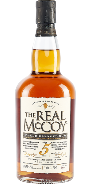 RUM THE REAL MCCOY 5 YO