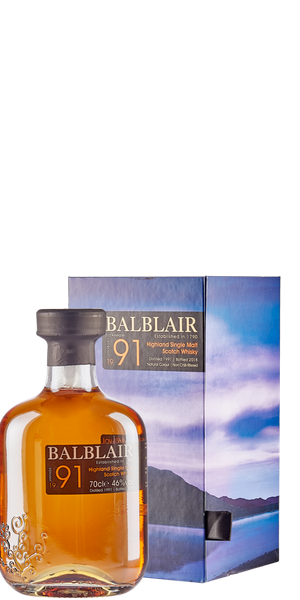 WHISKY BALBLAIR VINTAGE 1991 SINGLE MALT | ACD