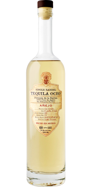 TEQUILA OCHO SINGLE BARREL ANEJO