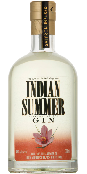 GIN INDIAN SUMMER SAFFRON INFUSED