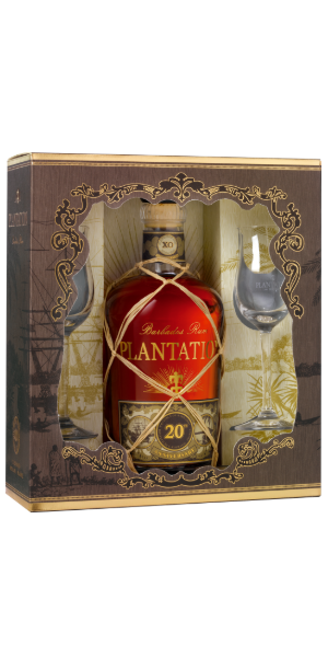RUM PLANTATION XO 20TH ANNIVERSARY GLASS PACK | PB
