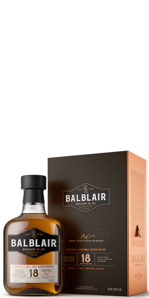 WHISKY BALBLAIR 18YO SINGLE MALT | ACD