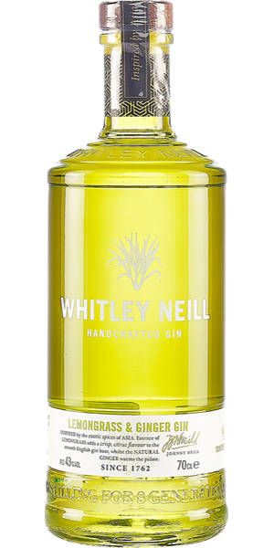 GIN WHILTEY NEILL LEMONGRASS & GINGER