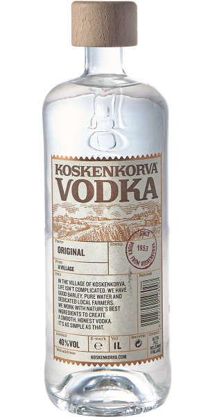 VODKA KOSKENKORVA ORIGINAL POURING