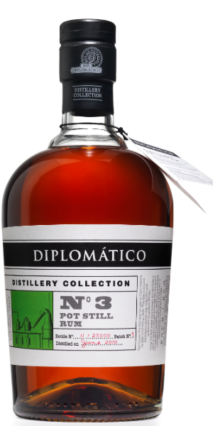 RUM DIPLOMATICO DISTILLERY COLLECTION N°3 SINGLE POT STILL  | TC