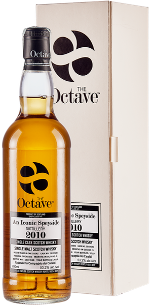WHISKY DUNCAN TAYLOR THE OCTAVE AN ICONIC SPEYSIDE 2010  8 YO  SINGLE MALT | AC