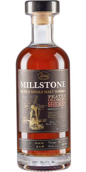 WHISKY MILLSTONE SPECIAL N.15 PEATED OLOROSO SHERRY 2010