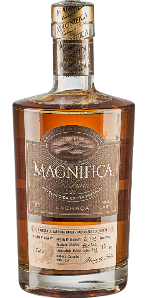 CACHACA MAGNIFICA SINGLE CASK 12-15YO BARREL N°J610 | S