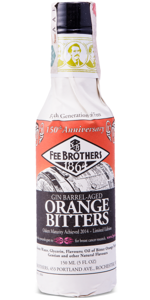 BITTER FEE BROTHERS GIN BARREL AGED ORANGE
