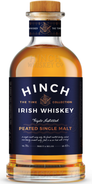WHISKEY HINCH PEATED SINGLE MALT