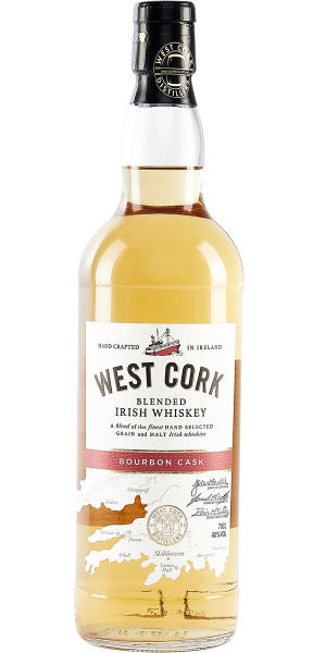 WHISKEY WEST CORK BOURBON CASK BLEND