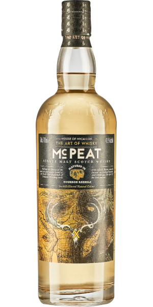 WHISKY HOUSE OF MCCALLUM MC PEAT SINGLE MALT | AC