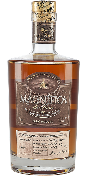 CACHACA MAGNIFICA SINGLE CASK 12-15YO BARREL N°J69 | GB