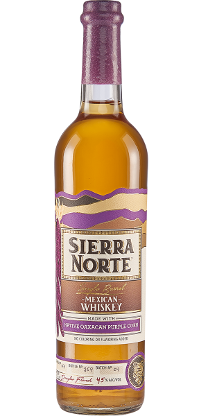 WHISKEY SIERRA NORTE 85% MAIZ MORADO