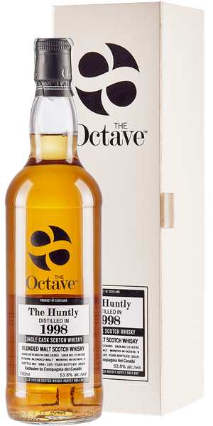 WHISKY DUNCAN TAYLOR THE OCTAVE HUNTLY 1998  20 YO  SINGLE MALT | AC