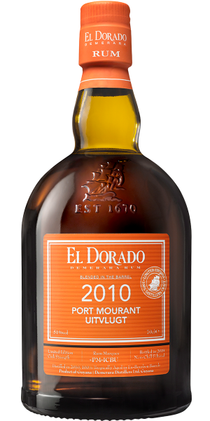 RUM EL DORADO ORANGE PORT MOURANT - UITVLUGT 2010 | AC