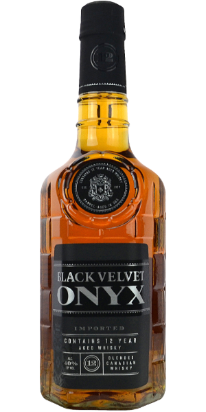 WHISKY BLACK VELVET 12 YO ONYX