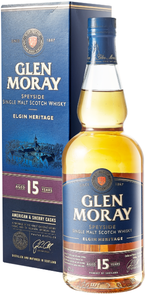 WHISKY GLEN MORAY 15 YO SINGLE MALT | AC