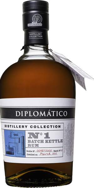 RUM DIPLOMATICO DISTILLERY COLLECTION N°1 SINGLE KETTLE BATCH | TC