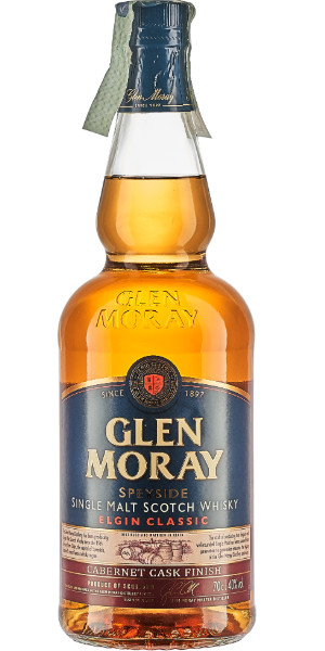 WHISKY GLEN MORAY CABERNET CASK SINGLE MALT | AC