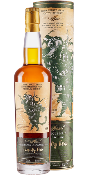 WHISKY PEAT'S BEAST ISLAY TWENTY FIVE SINGLE MALT | TC