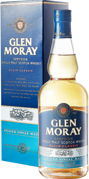 WHISKY GLEN MORAY PEATED SINGLE MALT | AC