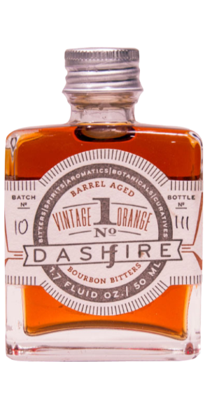 BITTER DASHFIRE VINTAGE ORANGE BOURBON BARREL AGED NO.1