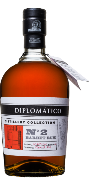 RUM DIPLOMATICO DISTILLERY COLLECTION N°2 SINGLE COLUMN BARBET   | TC