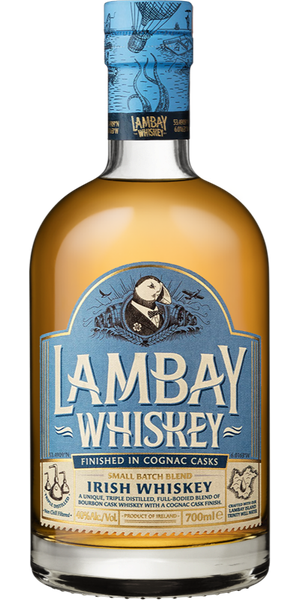 WHISKEY LAMBAY COGNAC CASK FINISHED BLEND